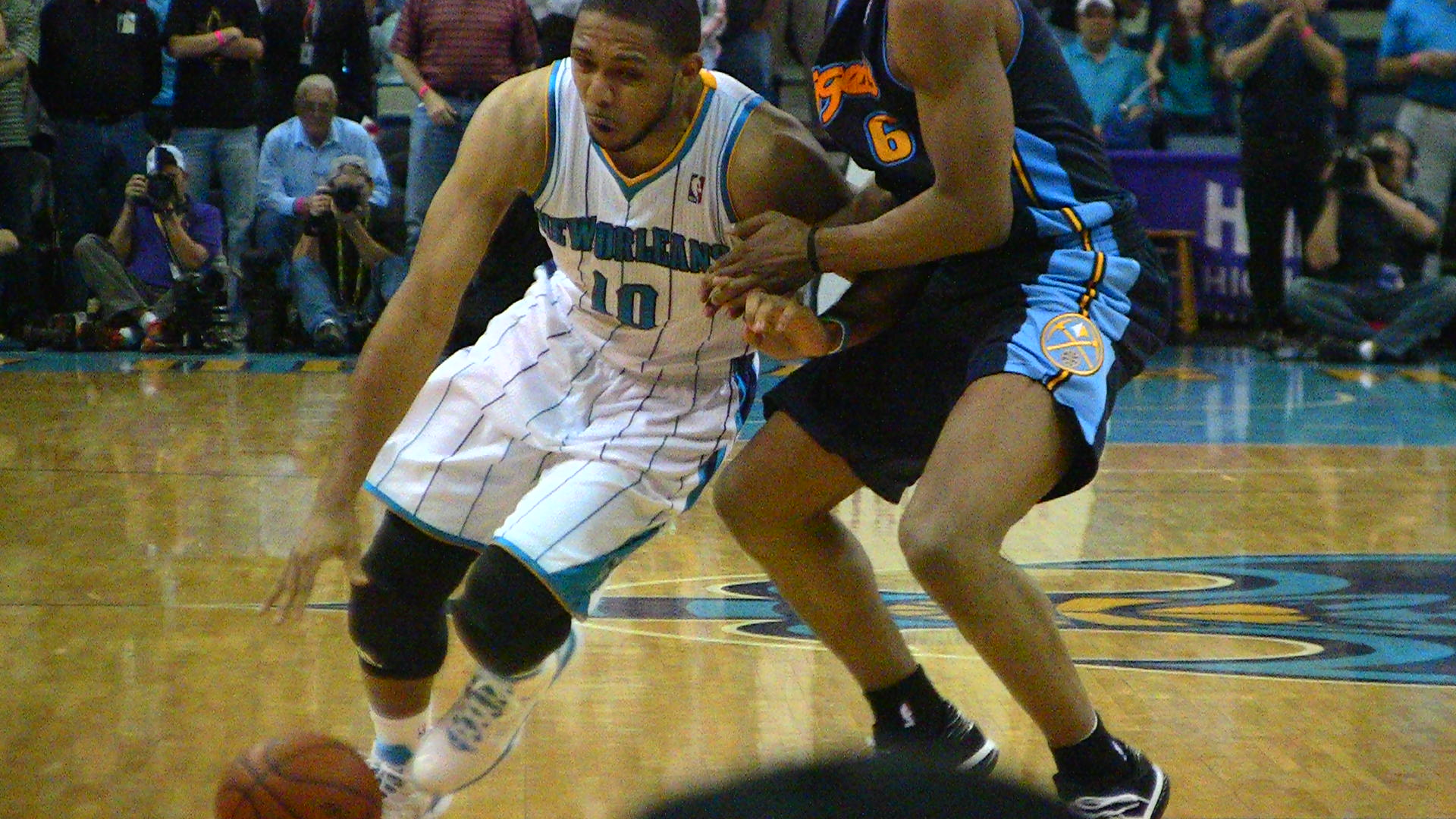 Eric Gordon made his long-anticipated return to the lineup in the Hornets' win over Denver on Wednesday night.
