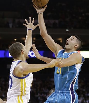 Greivis Vasquez, Stephen Curry