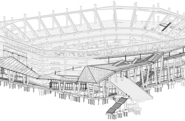 Seattle Arena Drawings New Orleans Not Seattle