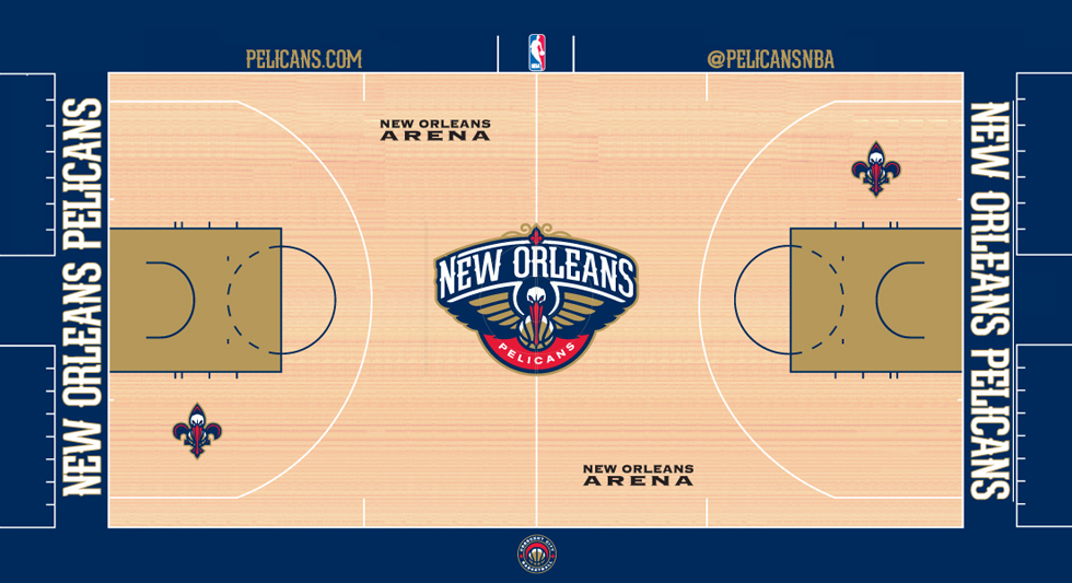 Pacers New Court Design