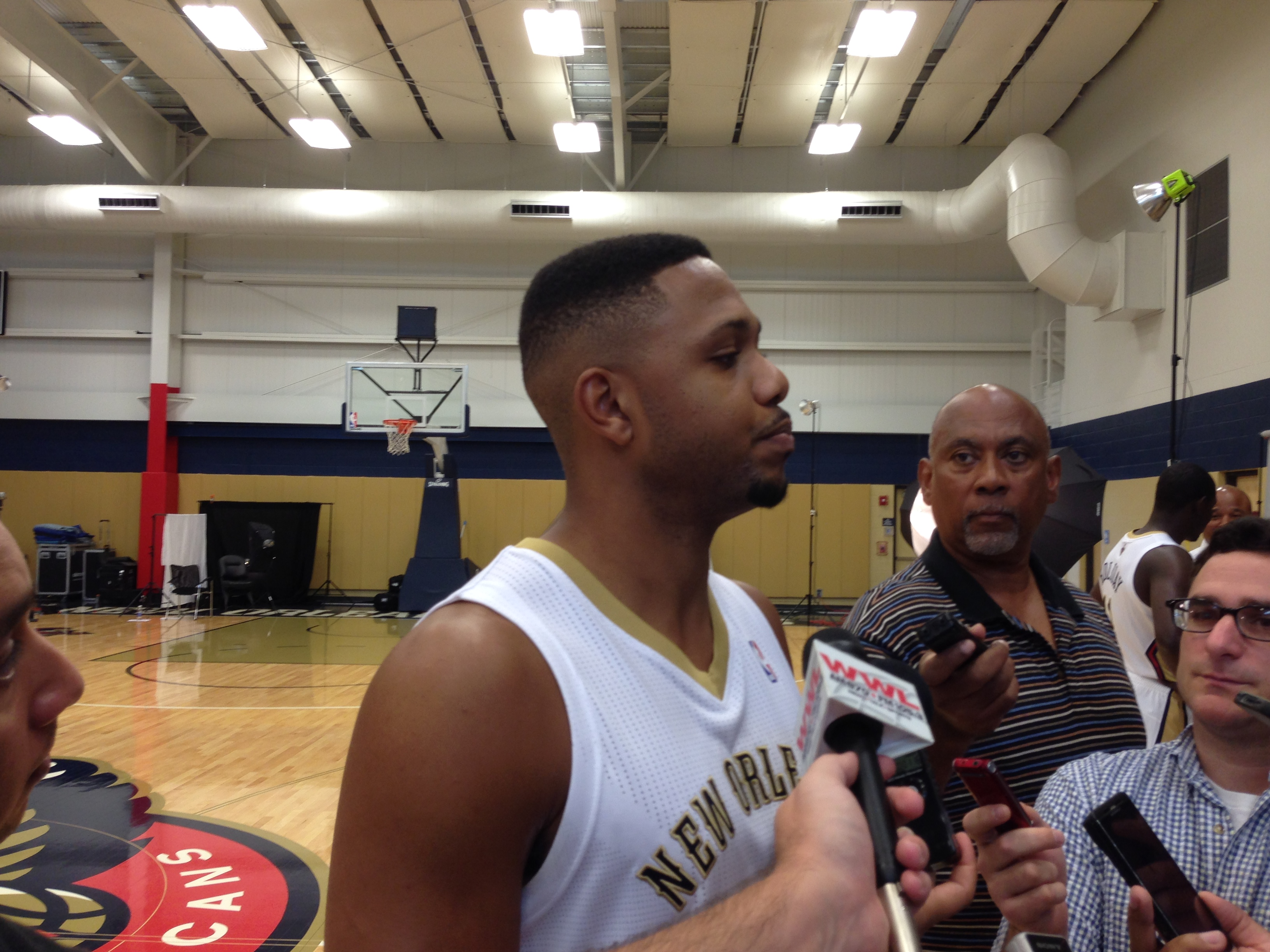 Trew 2 The Game 14 More On Media Day New Orleans Pelicans
