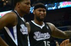 Kings DeMarcus Cousins Rudy Gay