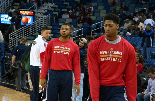 Anthony Davis Eric Gordon