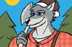 Lumberjack Wolf