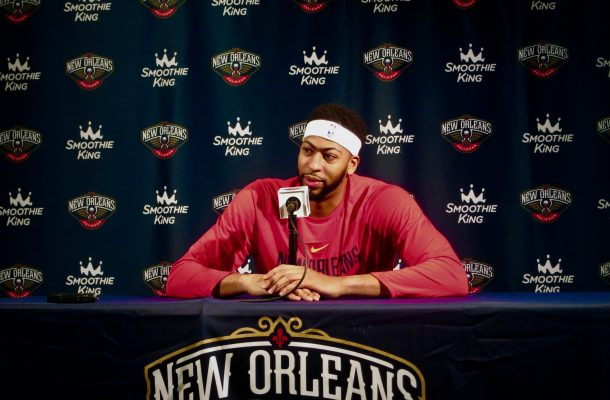 Anthony Davis wears No. 0 to All-Star Game to honor DeMarcus Cousins